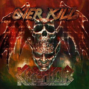 Overkill & Kreator - Man In Black & Warrior Heart (Split EP) (2017) 320 kbps