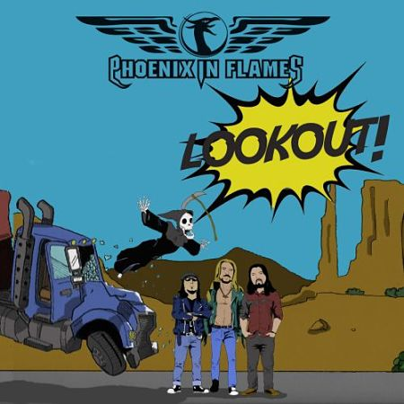 Phoenix in Flames - Look Out! (2017) 320 kbps