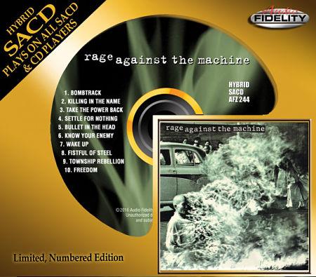 Rage Against The Machine - Rage Against The Machine (1992) (2016 Audio Fidelity Remaster)