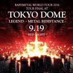 Babymetal – Live at Tokyo Dome: Red & Black Night [4CD Deluxe Edition] (2017) 320 kbps