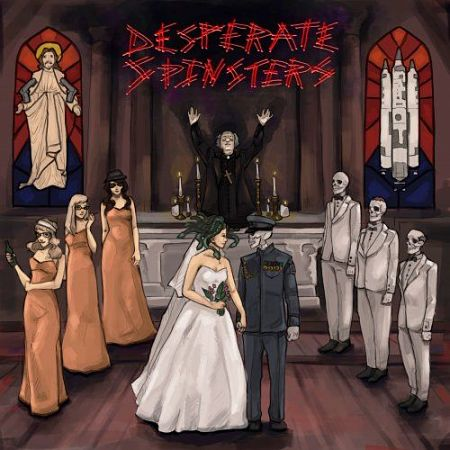 Desperate Spinsters - Gorgon In A White Dress (2017) 320 kbps
