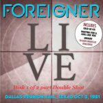 Foreigner – Double Shot Live from Dallas and Chicago (2CD) (2017) 320 kbps