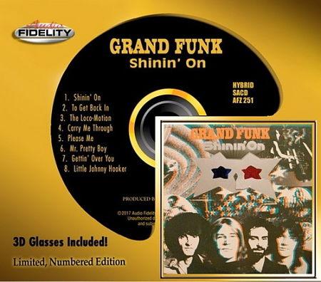 Grand Funk – Shinin' On (1974, Audio Fidelity 2017) 320 kbps + Scans