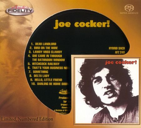 Joe Cocker - Joe Cocker! (1969) [SACD] (2017 Audio Fidelity Remaster) 320 kbps + Scans
