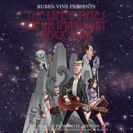 Ruben Vine - The Life and Times of an Imaginary Rock Star (2017) 320 kbps