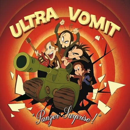 Ultra Vomit - Panzer Surprise! (2017) 320 kbps