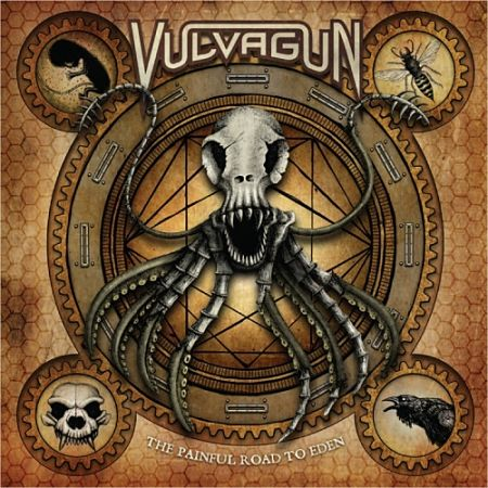 Vulvagun - The Painful Road To Eden (2017) 320 kbps