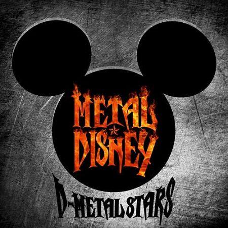 D-Metal Stars - Metal Disney (2016) 320 kbps