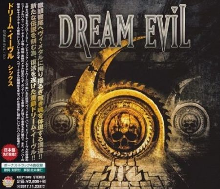 Dream Evil – SIX (Japanese Edition) (2017) 320 kbps + Scans