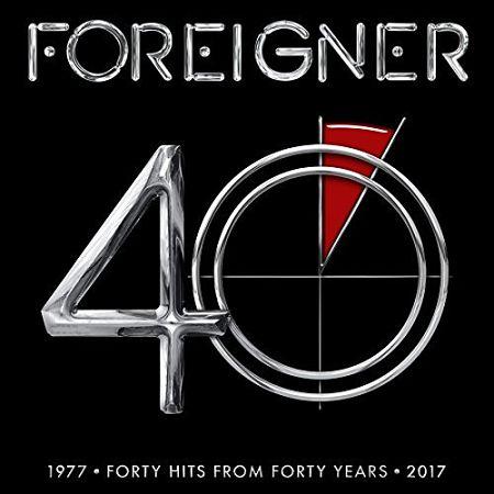 Foreigner - 40 (Compilation) (2017) 320 kbps