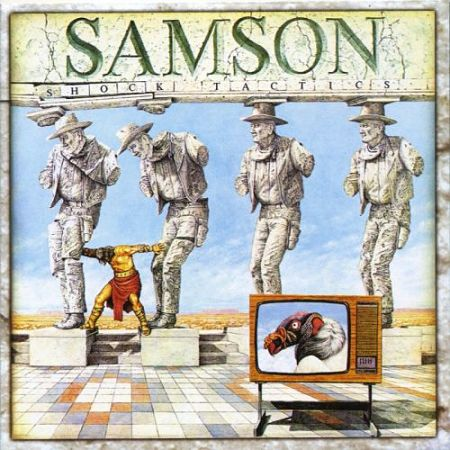 Samson - Shock Tactics (Bonus Track Edition) (Reissue 2017) 320 kbps