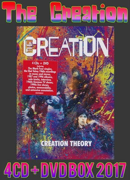 The Creation - Creation Theory (4CD Box Set) (2017) 320 kbps + Scans