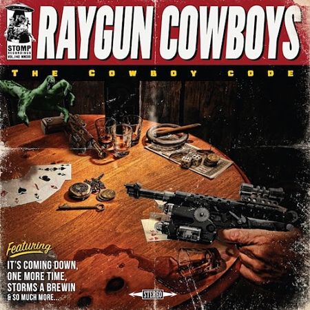 The Raygun Cowboys - The Cowboy Code (2017) 320 kbps