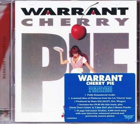 Warrant - Cherry Pie [Rock Candy Remastered] (2017)
