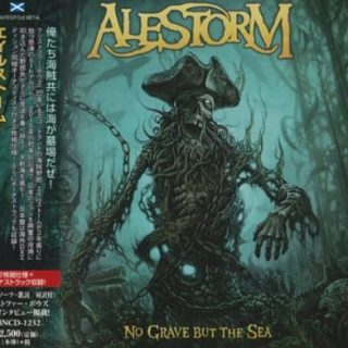 Alestorm - No Grave But The Sea (2CD) [Japanese Edition] (2017) 320 kbps + Scans