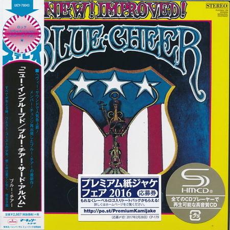Blue Cheer - New! Improved! (1969) (Mini LP SHM-CD 2017) 320 kbps + Scans