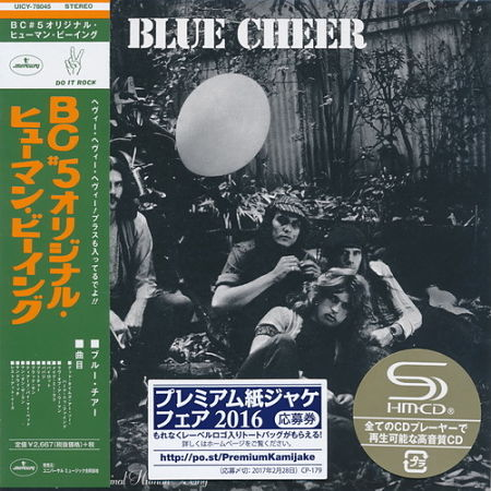 Blue Cheer - BC #5 Original Human Being (1970) (Mini LP SHM-CD 2017) 320 kbps + Scans