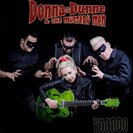 Donna Dunne & The Mystery Men - Voodoo (2017) 320 kbps