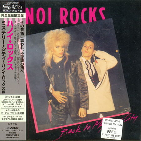 Hanoi Rocks - Back To Mystery City (1983) (Mini LP SHM-CD Japan 2013) 320 kbps + Scans