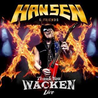 Hansen & Friends - Thank You Wacken (Japanese Edition, Live) (2017) 320 kbps + Scans