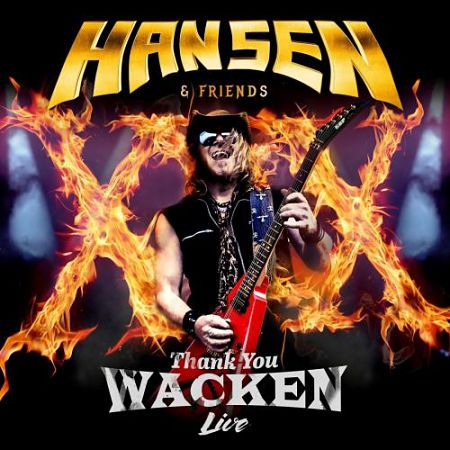 Hansen & Friends - Thank You Wacken (Japanese Edition, Live) (2017) 320 kbps + Scans