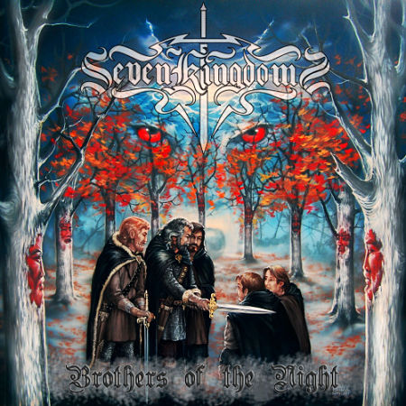Seven Kingdoms - Brothers Of The Night (2007) (Reissue 2017) 320 kbps + Scans