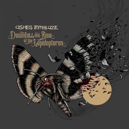 ashes emblaze - Downfall and Rise of the Lepidopteran (2017) 320 kbps