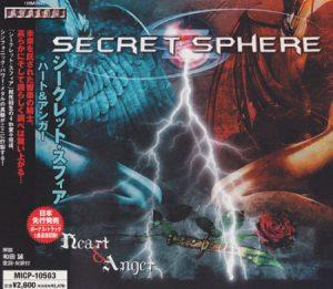2005 - [CD] Heart & Anger (Japanese Edition)