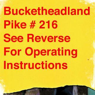 Buckethead - Pike 216: Wheels of Ferris (2015) 320 kbps