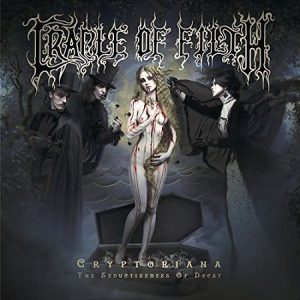 Cradle Of Filth - Cryptoriana - The Seductiveness Of Decay (2017) 320 kbps