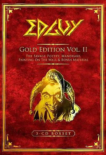 Edguy - Gold Edition Vol. II [3CD Box Set] (2010) 320 kbps