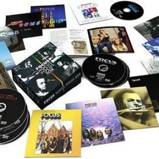 Focus - Hocus Pocus Box [13 CD Box Set] (2017) 320 kbps + Scans