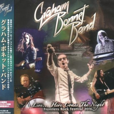 Graham Bonnet Band - Live… Here Comes The Night [Japanese Edition] (2017) 320 kbps