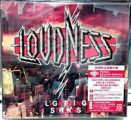 Loudness - Lightning Strikes [1986] (30th Anniversary Limited Edition, 2016) 320 kbps + Scans