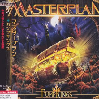 Masterplan - PumpKings [Japanese Edition] (2017) 320 kbps + Scans