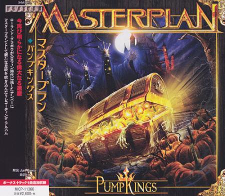 Masterplan - PumpKings [Japanese Edition] (2017) 320 kbps + Scans