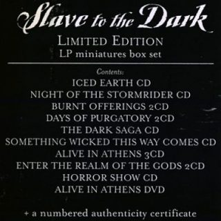 Iced Earth - Slave To The Dark - The Century Media Years [Ltd. Edition, 14CD Box Set] (2008) 320 kbps