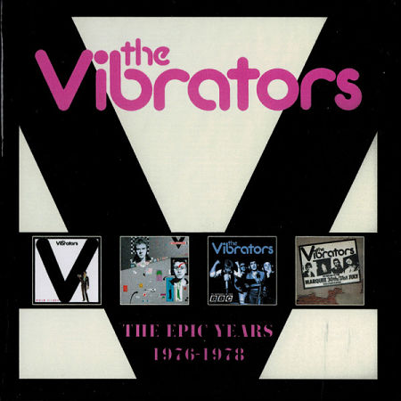 The Vibrators – The Epic Years 1976-1978 [4CD Box Set] (2017) 320 kbps