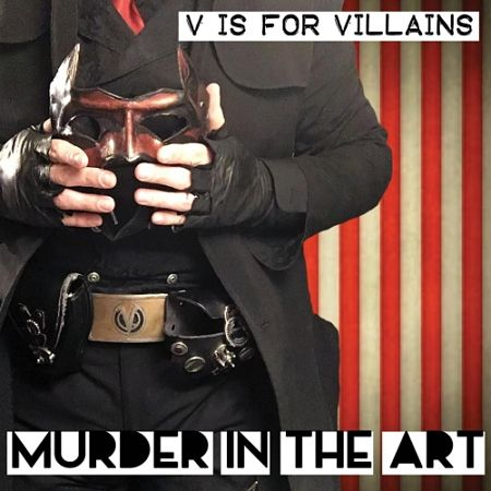V Is for Villains - Murder in the Art (2017) 320 kbps