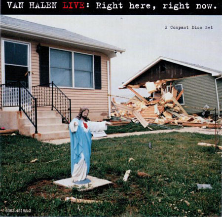 Van Halen - Live: Right Here, Right Now, 2CD (1993) 320 kbps + Scans