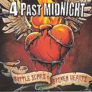 4 Past Midnight - Battle Scars & Broken Hearts (2017) 320 kbps