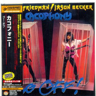 Cacophony - Go Off! (1988) [2010, Japanese Edition, Reissue] 320 kbps + Scans