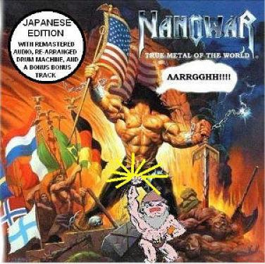 Nanowar - True Metal Of The World (Demo) [Japanese Edition] (2003)