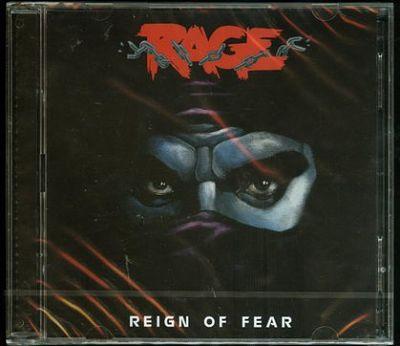 Rage - Reign of Fear (1986) [Re-release 2017] 320 kbps