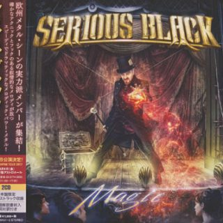 Serious Black - Magic [Japanese Limited Edition] (2017) 320 kbps + Scans