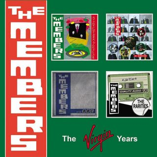 The Members - The Virgin Years [4 CD Box Set] (2017) 320 kbps