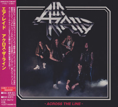 Air Raid - Across the Line [Japanese Edition] (2017) 320 kbps + Scans