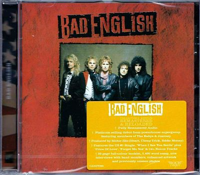 Bad English - Bad English (1989) [Rock Candy Remastered 2017] 320 kbps