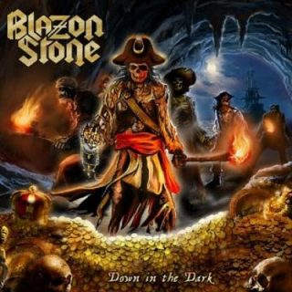 Blazon Stone - Down In The Dark (2017) 320 kbps
