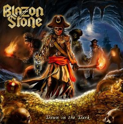 Blazon Stone - Down In The Dark (2017) 320 kbps